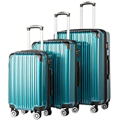 Designed for the modern traveller  Made of lightweight and durable PC+ABS material, this luggage is crafted to resist impact. Soft touch top and side carry handles provide maximum comfort while travelling, and an integrated TSA-accepted combi...