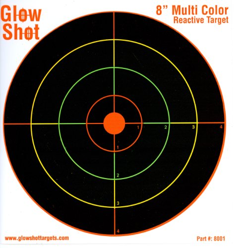 75 pack – 8″ Reactive Splatter Targets – GlowShot – Multi Color – See Your Hits Instantly – Gun and Rifle Targets – Search GlowShot for all our 6″, 8″ and 10″ Targets, Outdoor Stuffs