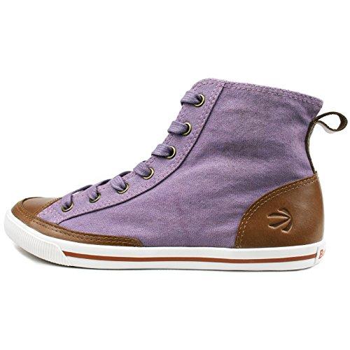 Burnetie Womens High Top Vintage Sneaker