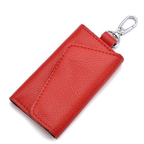 Leather 6 Key Holder - 5