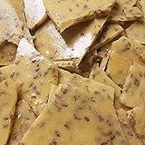 Flax Seed Vegan Candy Brittle NO BUTTER Fourteen ounce Bag Crispy sweet Candy