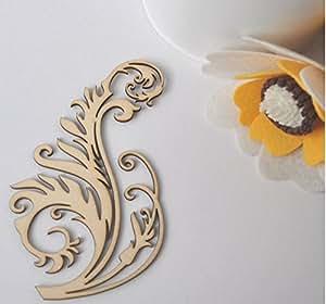 U d chill ideas wooden shapes letters vine for Room decor embellishment art
