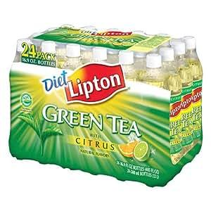 Lipton Diet Green Tea - 24/16.9 oz bottles - CASE PACK OF 4