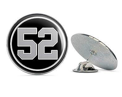 054ce13d78fd32 Amazon.com: NYC Jewelers Round #52 Khalil Mack Raiders Colors ...