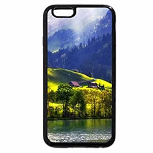 iPhone 6S / iPhone 6 Case (Black) Painted with light
