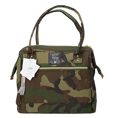 Anello Official Camouflage Japan Fashion Top-Handle Sport Gym Travel Duffel Bag