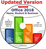 Office Suite 2018 Home Student and Business for Microsoft Windows 10 8.1 8 7 Vista XP 32 64bit| Alternative to Microsoft Office 2016 2013 2010 365 Compatible with Word Excel PowerPoint ⭐⭐⭐⭐⭐