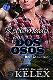 Reclamado por dos osos: Erotica Gay en español (Bear Mountain nº 2) (Spanish Edition)