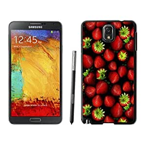 NEW Custom Designed For SamSung Galaxy S3 Case Cover Phone With Strawberries Pattern_Black Phone