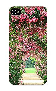 Series Skin Case Cover For Iphone 5/5s(rose Garden )