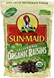 2 LBS Organic Sun Dried California Raisins (1 Resealable Bag)
