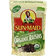 Sun Maid Organic Sun Dried California Raisins, 2 LBS (1 Resealable Bag)