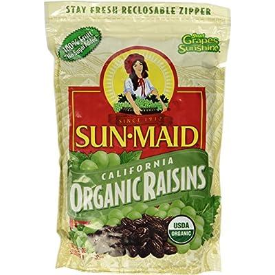 2 LBS Organic Sun Dried California Raisins (1 Resealable Bag) by Sun Maid - 4007648 , B00MQG4Y30 , 454_B00MQG4Y30 , 11.78 , 2-LBS-Organic-Sun-Dried-California-Raisins-1-Resealable-Bag-by-Sun-Maid-454_B00MQG4Y30 , usexpress.vn , 2 LBS Organic Sun Dried California Raisins (1 Resealable Bag) by Sun Maid