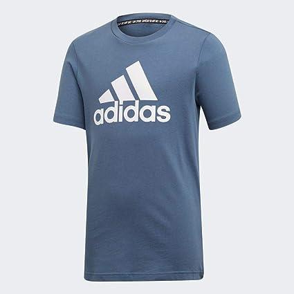 adidas YB MH Bos T, Maglietta Bambino: Amazon.it: Sport e