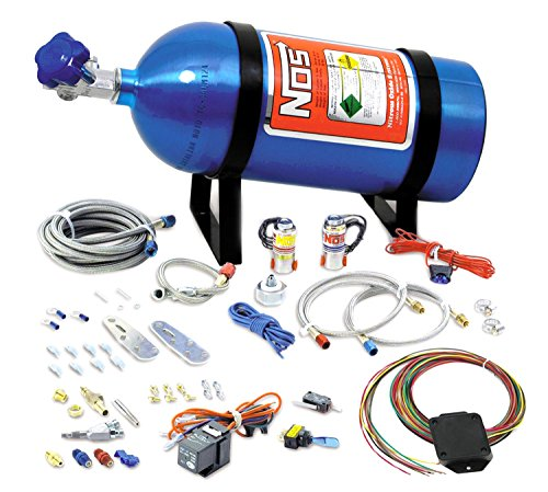NOS 05135NOS Universal Drive-By-Wire Wet Nitrous System - 8 (Efi Wet Kit)