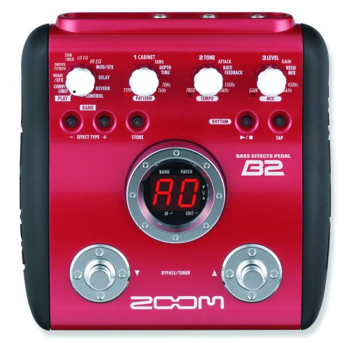 Zoom B2 Multi Effects Pedal