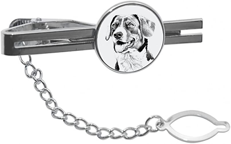Clip with an Image of a Dog Beagle tie pin Elegant and Casual Style