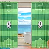 Best Marvel Bed Canopies - ABLINK The Football Field Soccer Fabric Sheer Decor Review