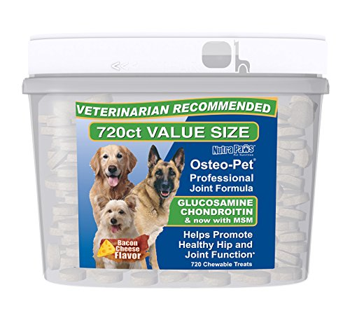 Osteo Pet Glucosamine Chondroitin for Dogs - 720 Ct Value Size by Osteo-Pet