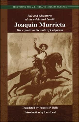 Book Joaquin Murrieta, California Outlaw (Recovering the U.S. Hispanic Literary Heritage) by Ireneo Paz (1999-11-01)