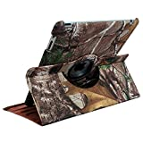 Realtree Extra Green Camo 360 Degree Rotating cover case for Ipad 2, 3 and 4th generation