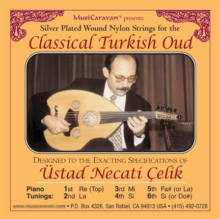 Oud String Set for Classical Turkish Oud by MusiCaravan by MusiCaravan