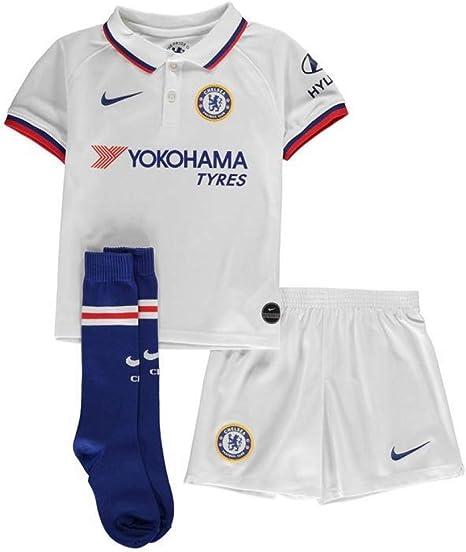 Nike CFC LK Nk BRT Kit AW Chándal, Unisex niños, White/Rush Blue ...