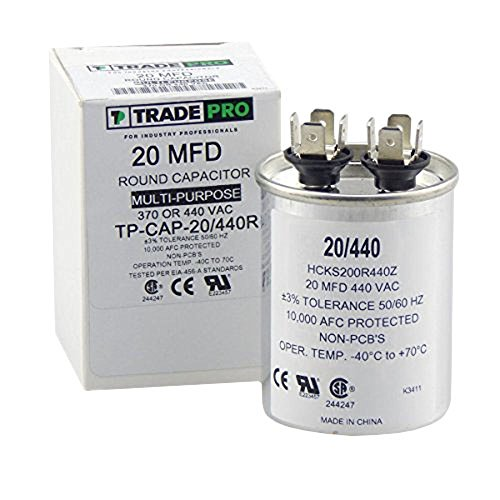20 mfd Capacitor, Industrial Grade Replacement for Central A