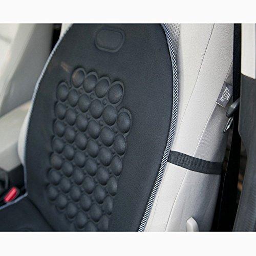 Sedeta/® Bubble magn/étique Protecteur de Coussin massant Coussin de si/ège de Voiture Couvre Comfort Ultra pour Le conducteur douleurs au Dos pour Le Bureau Chaise canap/é /à Domicile