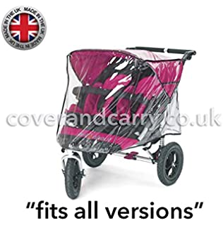 142 Raincover Compatible with Out N About Nipper 360//Sport Pushchair