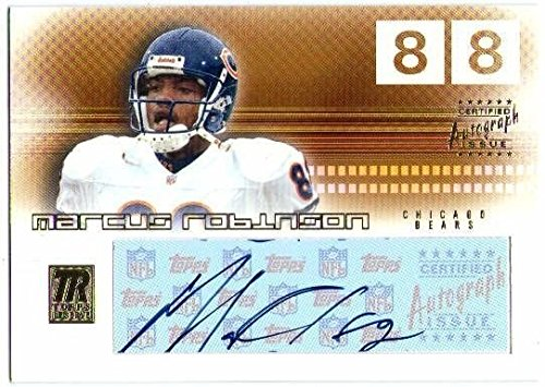 MARCUS ROBINSON 2002 Topps Reserve Autograph Auto Signature Card Bears Vikings (Topps 2002 Auto Autograph)