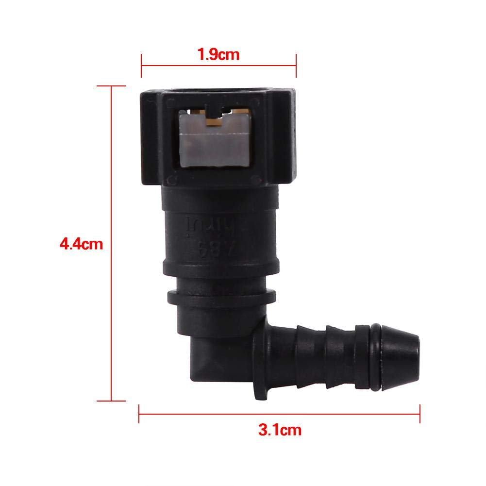 Quick Release Fuel Line Connect Connector Motorcycle Hose Coupler ID6 Moto Accessories Motorcycle Hose Coupler 9.49mm Straight