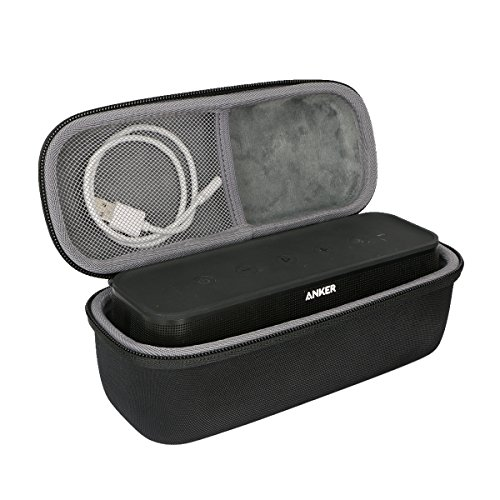 co2crea Hard Travel Case for Anker SoundCore Pro+ 25W Bluetooth Speaker (Size 1)