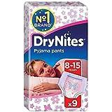 1パック女の子の9のための8-15年のDrynites (Huggies) - Huggies 8-15 years DryNites for Girls 9 per pack [並行輸入品]
