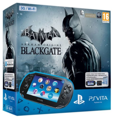 PS Vita 3G + Mc 4Gb + Batman Arkham Origins [Importación Italiana ...