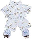 Best FIESTA Friends Teddy Bears - Blue Monkey Pajamas with Slippers Set Teddy Bear Review