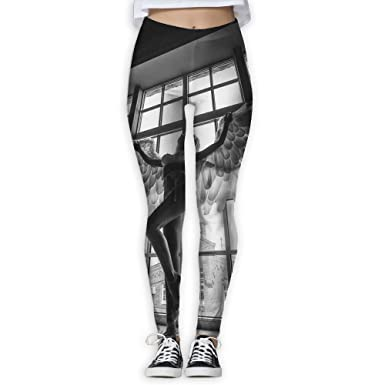 0dc7728a46531f Amazon.com: Virgo Angel Wine Girl Warmth Compression Pants/Yoga Pants Gym  Tights for Women Runners Side Pocket: Clothing