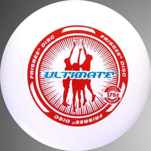 Ultimate Frisbee Sport Wham-0 Disc (Assorted Colours) by Frisbee Disc