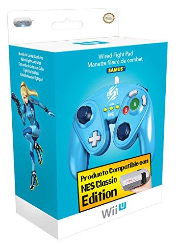 Price comparison product image Wii U Fight Pad Controller - Zero Suit Samus