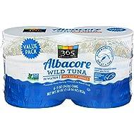 365 Everyday Value, Wild Albacore Tuna In Water, 30 Oz, 6 CT