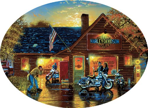 Cameo Collection Harley-Davidson 750 Pieces Jigsaw Puzzle