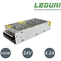 LEDUNI ® Fuente de Alimentación 24V DC LED