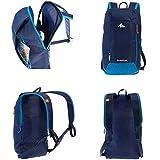 Quechua Kids Adults X-Sports Decathlon 10L Outdoor Day Backpack Small -  Dark Blue ffb6fa838a6b3
