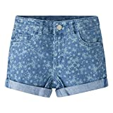 Image of Levi's Little Girls' Summer Love Shorty Shorts, Light Waters, 4