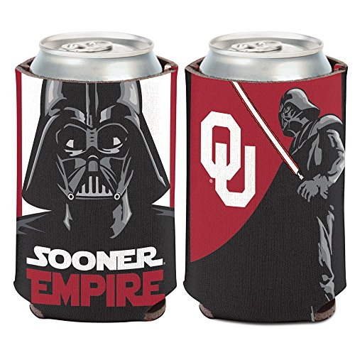 Oklahoma Cooler Tailgate (WinCraft NCAA University of Oklahoma Can Cooler, 12 oz)