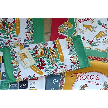 Texas Western Theme Kitchen Towels By Moda, Set of 4