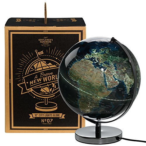 - Wild and Wolf Gentlemen's Hardware City Lights Globe Light