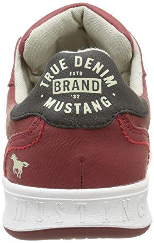 Mustang 4098305 - Zapatillas Hombre Rojo (5 Rot)