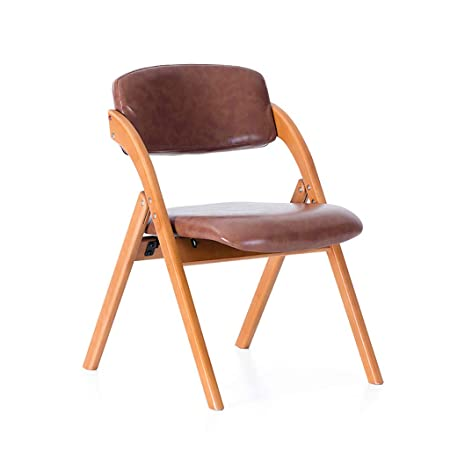 Folding Dining Chairs Padded.Lwcy Wooden Padded Folding Chair Dining Chair Office Chair