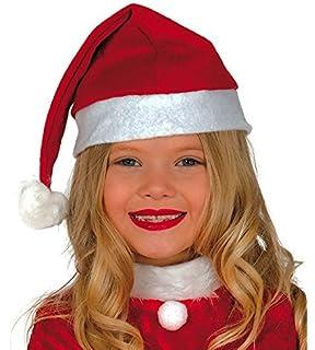 Weihnachtsmütze Kinder Mütze Weihnachten Weihnachtsmann Fasching Kostüm